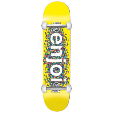 Enjoi Candy Coated Yellow Complete Skateboard - 8.25