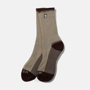 Baker Skateboards Capitol B Concrete Socks