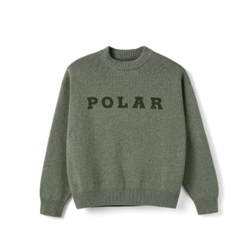Polar Skate Co Knit Sweater - Green