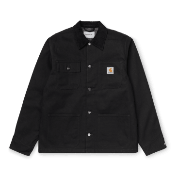 Carhartt WIP Michigan Coat - Black Rigid