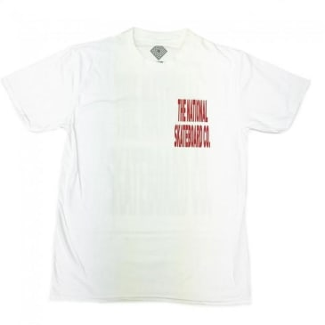 The National Skateboard Co. Push Thru T-Shirt - White