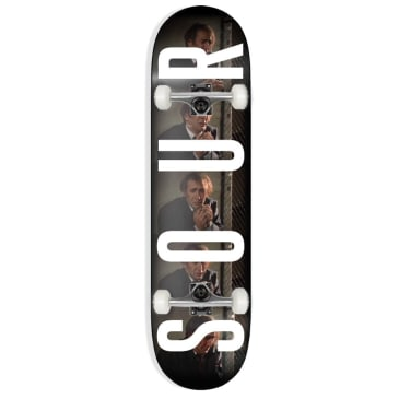"""Sour Solution - Army So Close - Complete Skateboard - 8.25"""""""