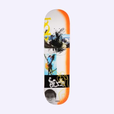 Quasi De Keyzer Debut Skateboard Deck Orange - 8.5""