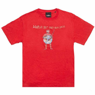 Cometomychurch DNTLETEM T-Shirt - Red