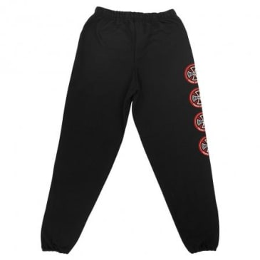 Independent Hollow Cross Sweatpants Black