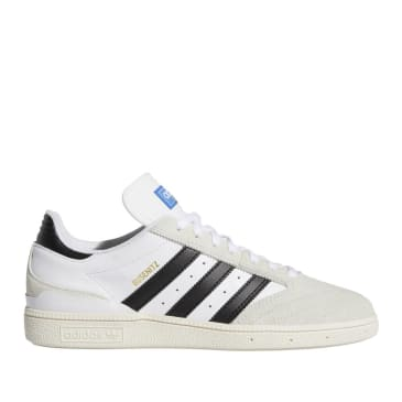 adidas Skateboarding Busenitz Pro Shoes - Cloud White / Core Black / Crystal White