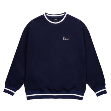 Classic French Terry Crewneck - Navy