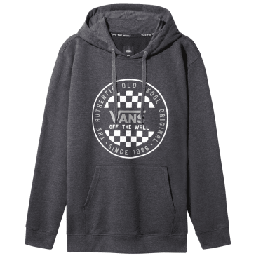 Vans OG Checker Hoodie - Black Heather