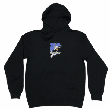 Tuesdays 'Dolphin Boy' Hoodie - Black