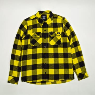 Dickies - Sacramento Flannel Shirt - Yellow