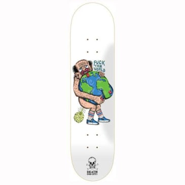 Death Skateboards Dan Cates Fuck The World Deck - Various Sizes