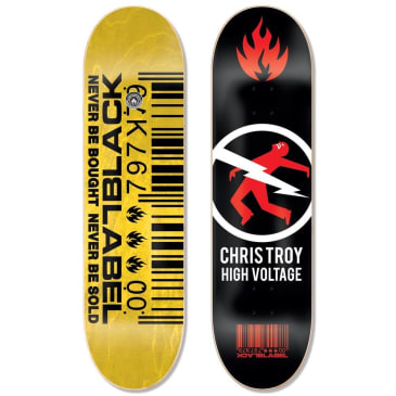 Black Label Skateboards- Chris Troy High Voltage Deck 8.5""