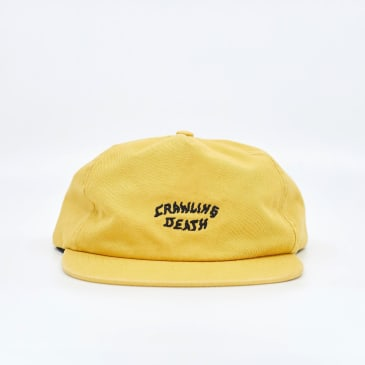 "CRAWLING DEATH- ""LOGO CAP"" (YELLOW)"