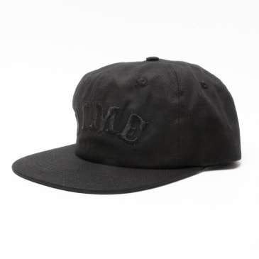 Dime Spell Out Snapback Black