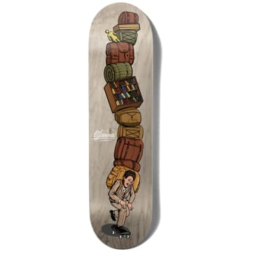Girl Skateboards Niels Bennett Emotional Baggage One Off W40 Skateboard Deck - 8.125