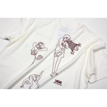 Vans x Sour Solution Pocket Tee - Marshmallow