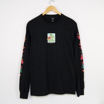 HUF Monarch Long Sleeve T-Shirt - Black