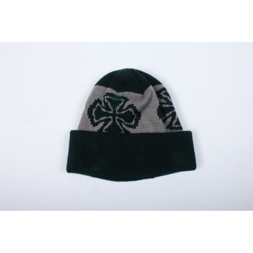 Independent Beanie Crosses Long Shoreman Black/Grey