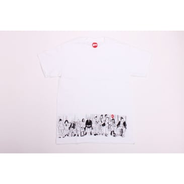 Hopps Tee Subway White