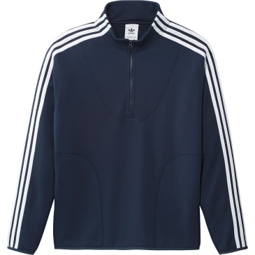 Adidas Terry Track Top Sweater | Navy / White