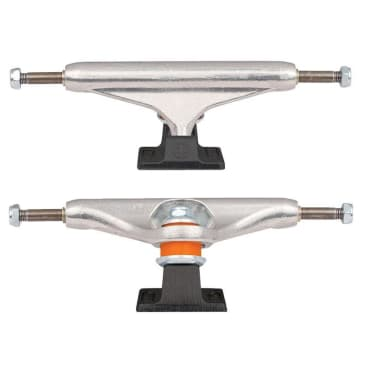 Independent Stage 11 Hollow Trucks - Silver/Black Ano