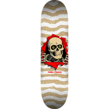 "Powell Peralta Deck Ripper Natural/White 8.0"" x 31.45"""