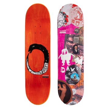 Numbers Davis Edition 7 Skateboard Deck - 8.28""