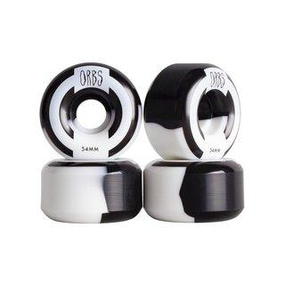 Welcome Skateboards - Orbs Apparitions Splits - 54mm (Black/White)