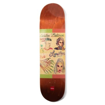 Chocolate Skateboards Cut Series Deck Perez 8.0