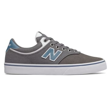 New Balance Numeric 255 Skateboarding Shoe - Grey/Navy