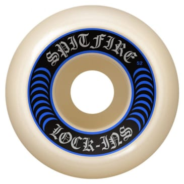 Spitfire Wheels - Formula Fours - Lock In's Shape - 99D - Various Sizes