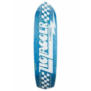 Krooked Zig Zagger Deck (Blue) 8.62 x 32.38