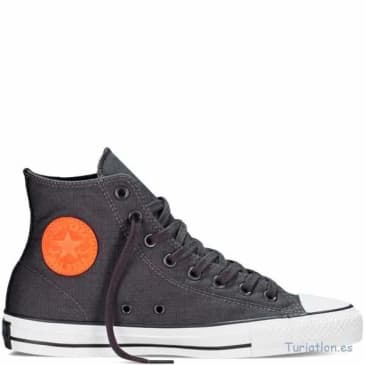 CONVERSE CTAS PRO HI - DARK GREY ORANGE WHITE