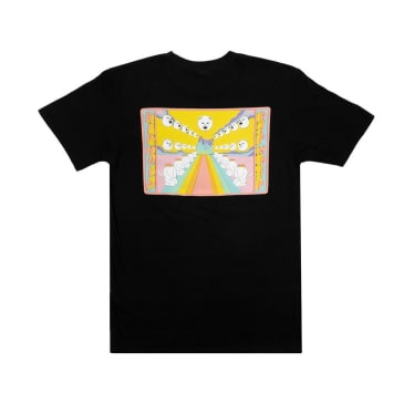 Ripndip Rainbow Road Pocket T-Shirt - Black