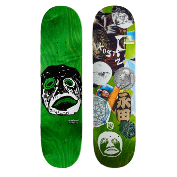 Numbers Koston Edition 7 Skateboard Deck - 8.5""