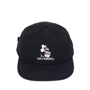 Snack - Seein The Sights Hat (Black/Rust)