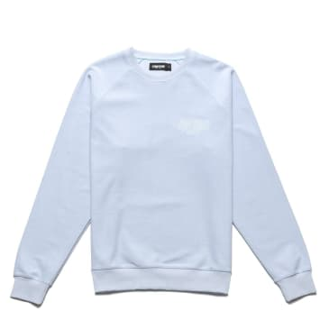 Chrystie NYC Reversed French Terry crewneck - Ice blue