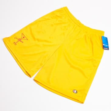 Alltimers League Player Champion Brand Shorts Team Gold