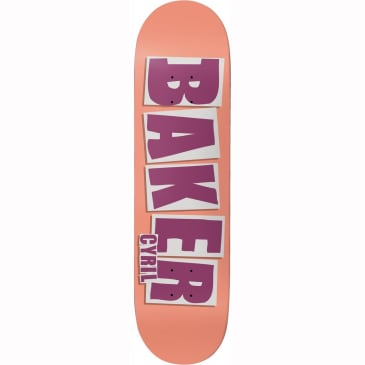 Baker Cyril Jackson Brand Name Deck (8.25)