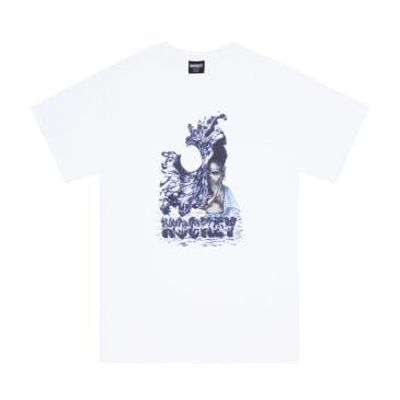 Hockey Liquid Metal T-Shirt - White