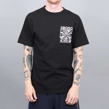 5Boro Lucky NY T-Shirt - Black