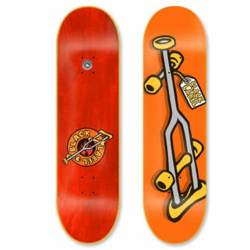Black Label OG Crutch Orange Deck 8.25″