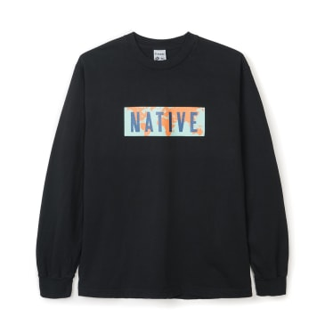 Powers World Native Long Sleeve T-Shirt - Black