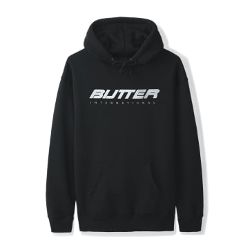 Butter Goods International Pullover Hoodie (Black)