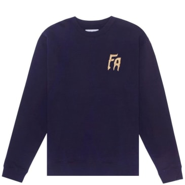 Fucking Awesome FA embroidered Sweatshirt - Navy