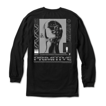 PRIMITIVE Origins Longsleeve Black