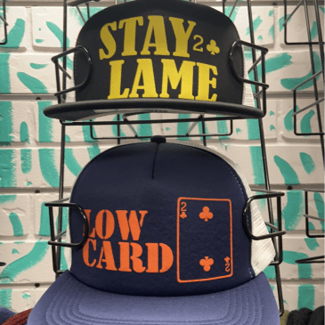 Low Card Mesh Hats - Assorted