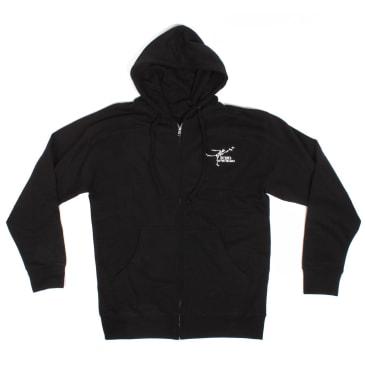 Orchard Gonz Only The Finest Zip Up Sweatshirt Black