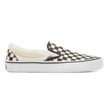 Vans Slip On Pro Skate Shoes - Checkerboard