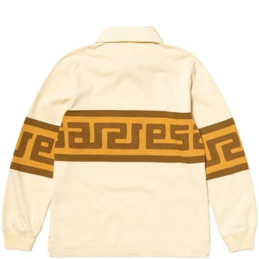 Aries Meandros Rugby Shirt - Beige